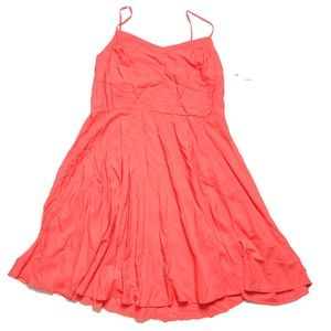 NWT Coral swing Dress